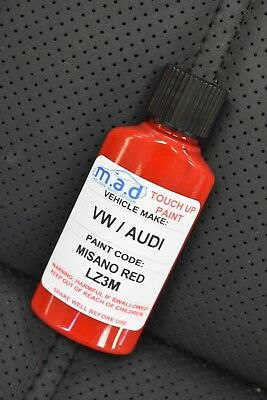 Misano Red Audi Lz3M Paint Touch Up Kit 30Ml Rs3 Rs4 Rs5 Ttrs A3 A4 A5 A6 Tt A8