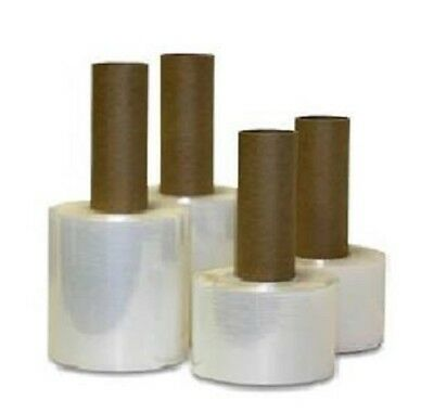 "5"" x 100 Ga Stretch Wrap Film with extended Core 650' ( 24 Rolls )"