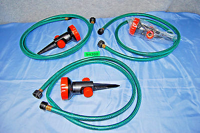 Portable Lawn Sprinkler System 3-Heads / 5-Settings (NEW) (#S4300)