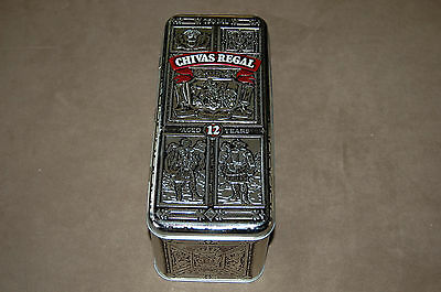 CHIVAS REGAL Aged 12 Years WHISKY Tin Gift Box - Empty Box Only