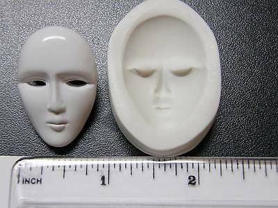 Mask Polymer Clay Mold (#MD1121)