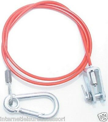 Breakaway Safety Cable & Clevis Pin, Suitable Ifor Williams/Knott Avonride