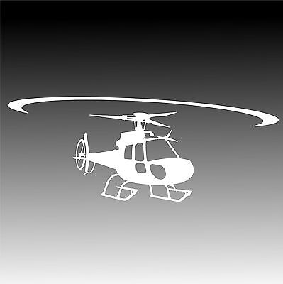 AS350 Eurocopter In Flight Decal AStar 350 Helicopter Pilot Sticker 3 Small