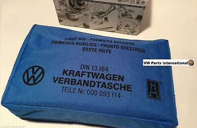 Genuine Volkswagen First Aid Kit for all VW Golf Scirocco 8v 16v VR6 R32 TSI