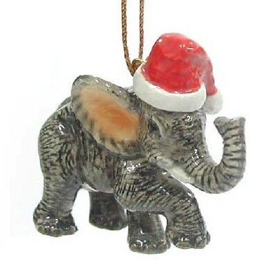 R304 - Northern Rose Christmas Ornament  - Elephant