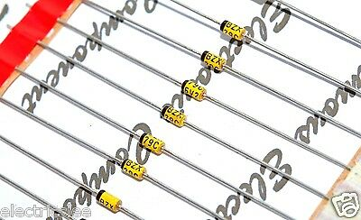 10pcs - PHILIPS BZX79-C6V2 6.2V 0.5W Axial Zener Diode - Rectifiers-933117740113