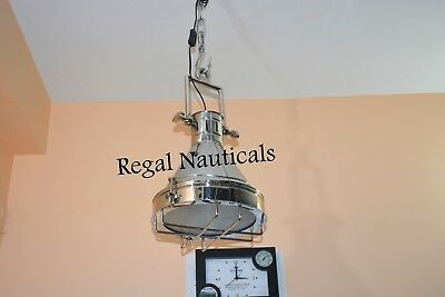 VINTAGE DOME INDUSTRIAL Steel Modern STYLE HANGING PENDENT LIGHT Dinning Light