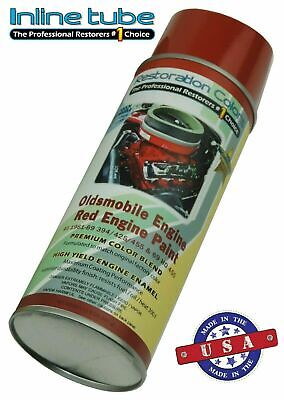 1968-1969 Gm Oldsmobile Engine Spray Paint Can Fast Dry Red 455 Hurst Olds 88 98