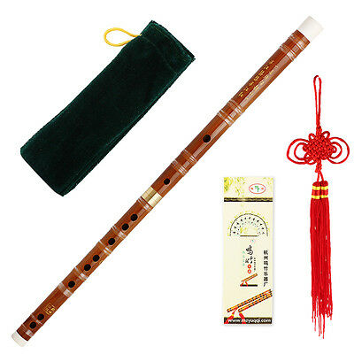 Pluggable Bamboo Flute/Dizi In C Chinese Traditional Musical Instrument