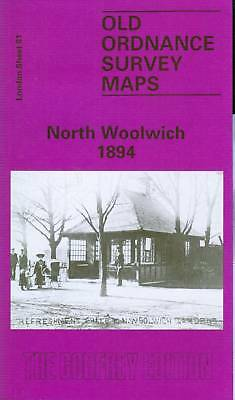 Old Ordnance Survey Map North Woolwich 1894