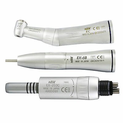 NSK Style Dental Inner Water Low Speed Handpiece Contra Angle Air Motor Kit M4