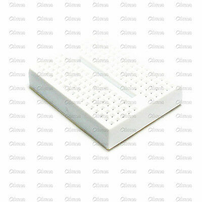 5PCS Mini White Solderless Prototype Breadboard 170 Tie-points Arduino Shield