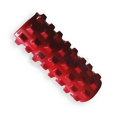 BodyRip DARK PINK GRID FOAM MASSAGE ROLLER PILATES YOGA FITNESS REHAB INJURY