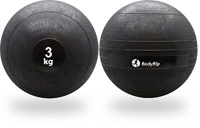 BodyRip 3KG SLAM BALL NO BOUNCE WEIGHT CROSSFIT WORKOUT MMA BOXING FITNESS GYM