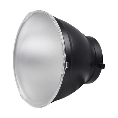 """7"""" / 18cm Studio Standard Reflector with Soft White Diffuser Filter Bowens Mount"""