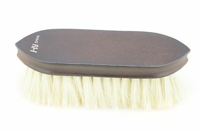 HySHINE Deluxe Goat Hair Wooden Brush - Horse First Aid/Grooming/Care