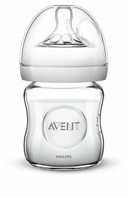 Avent Glass Natural Feeding Bottle 120Ml