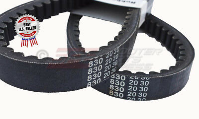 830-20-30 BELT GY6 150 250cc SCOOTER MOPED DIAMOND RETRO 172MM ~US SELLER.