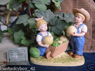 "Home Interiors HOMCO Denim Days Collection ""MELON PATCH"" Figurine w/TAG #1512"