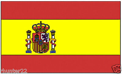 Huge 3' x 5' High Quality Spain Flag - Free Shipping