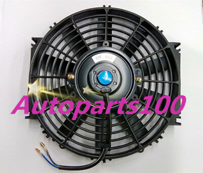 "9"" INCH 12V Reversible ELECTRIC Thermo COOLING FAN + MOUNTIN KITS"