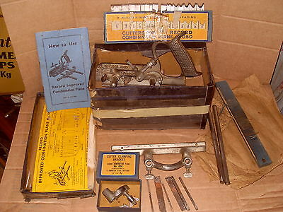 Record 050 Combination Plane - Made In England - As Photo's