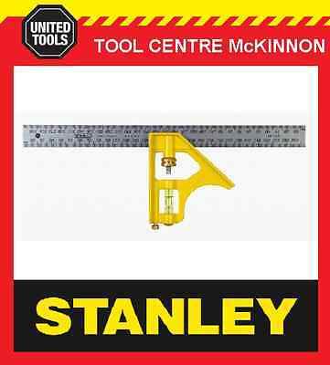 "STANLEY 12"" (300mm) PROFESSIONAL COMBINATION SQUARE"