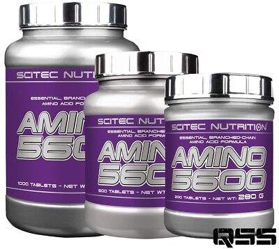 Scitec Nutrition Amino 5600 Essential, Branched-Chain Amino Acids 200/500/1000