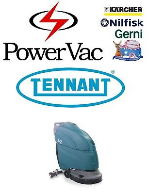 Tennant L2 Commercial Floor Scrubber Cleaner  Washer - Karcher Nilfisk Hako