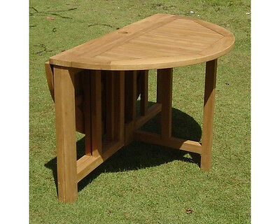 "48"" Round Butterfly Table - A Grade Teak Garden Outdoor Dining Furniture Patio"