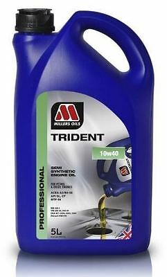 MILLERS OIL TRIDENT 10w40 Engine Oil Semi Synthetic Oil 5 Litre