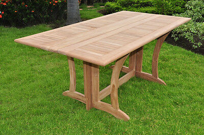 "69"" Warwick Table A Grd Teak Wood Garden Outdoor Dining Console Furniture Patio"