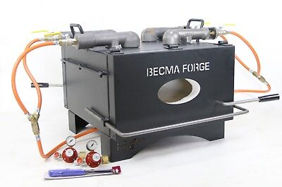 BECMA Blacksmith`s Gas Forge for Knifemaking GFR.7 neo, 1200°C in 15-20 Min.