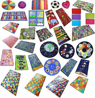 Play Mats for Children, Boys Girls, Fun Playroom Bedroom Christmas Mats for Kids