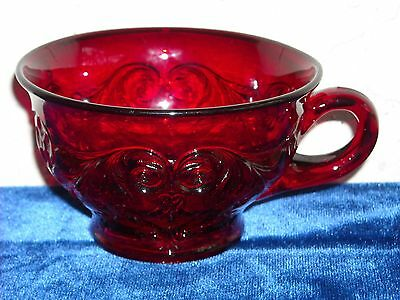 Rock Crystal Cup  Red
