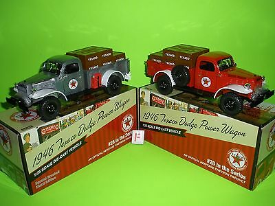 2011 Texaco #28 In Series 1946 Dodge Power Wagon Pick Up Truck Reg & Special F