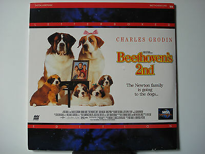 Beethoven's 2nd 1994 LTBX Laser Disc NEW Charles Grodin - Bonnie Hunt Near-Mint