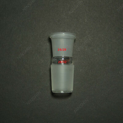 Glass Reducing Joint,Male 34/35 to Female 24/29,laboratory Glassware Adapter
