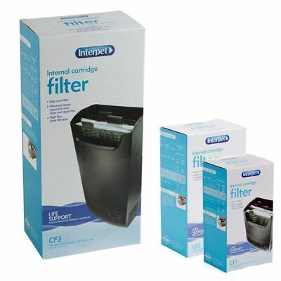 Interpet Internal Aquarium Cartridge Filter Hang On Fish Tank Filtration Media