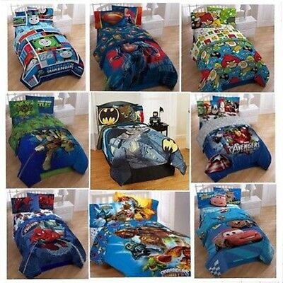 Bed Room TWIN-Single COMFORTER Boys Characters Movies (Sheets sold Separately)