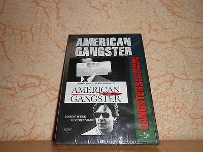 dvd AMERICAN GANGSTER russell crowe, denzel washington - sous blister