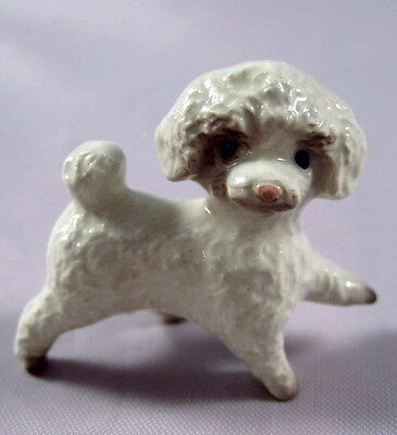Hagen Renaker miniature Made in America Toy Poodle  Dog