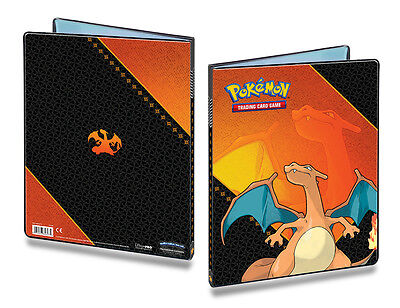 CHARIZARD 9-Pocket Portfolio Album Binder Pokemon Ultra-Pro Mappe f.180 Card OVP