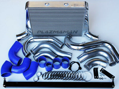 PLAZMAMAN Ford FG Turbo Stage 2 800hp Tube & Fin Intercooler kit - Falcon XR6