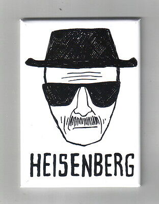 Breaking Bad TV Series Walter White Heisenberg Alias Art Image Magnet NEW UNUSED