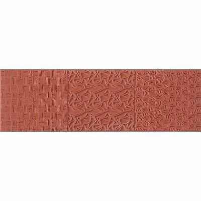 Color Box TEXTURE Impression MOLDING MAT Clay Paper Crafts WOVEN THREADS