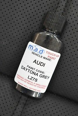 Daytona Grigio Audi Lz7s Vernice per Ritocchi Kit 30ml Rs3 Rs4 Rs5 Ttrs A3 A4 A5