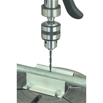 Self Centering Drill Press Jig Automatic center tube pipe dowel any round stock
