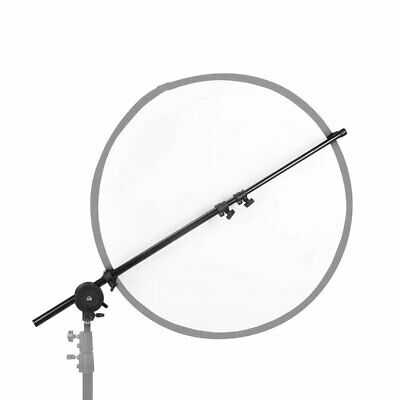 AU Studio Photo 65-176cm Swivel Head Reflector Disc Holder Arm Bracket Support