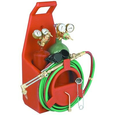 Portable Torch Kit With Goggles, Carrier, Igniter, Oxygen and Acetylene Tanks